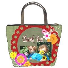 Thank You By Jacob   Bucket Bag   Cghl8vc08ogj   Www Artscow Com Back