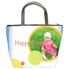 Happy Time By Jacob   Bucket Bag   8p31ks0ltb5a   Www Artscow Com Back
