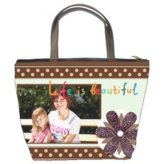 Happy Holiday By Jacob   Bucket Bag   80wybqvcie99   Www Artscow Com Back