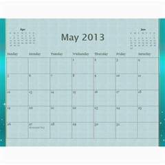 Mom By Terry   Wall Calendar 11  X 8 5  (12 Months)   Suqx7ytq71eg   Www Artscow Com May 2013