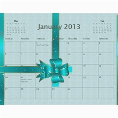 Mom By Terry   Wall Calendar 11  X 8 5  (12 Months)   Suqx7ytq71eg   Www Artscow Com Jan 2013