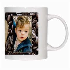 Love It White Mug By Deborah   White Mug   Ptd4w8rjfy6k   Www Artscow Com Right