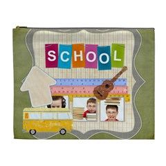 Kids, Love, Family, Happy, Play, Fun By Jo Jo   Cosmetic Bag (xl)   N06u8jknl2vw   Www Artscow Com Front