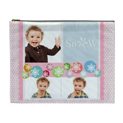 Kids, Love, Family, Happy, Play, Fun By Jo Jo   Cosmetic Bag (xl)   Ng6w3vhd5rou   Www Artscow Com Front