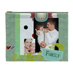 kids, love, family, happy, play, fun - Cosmetic Bag (XL)