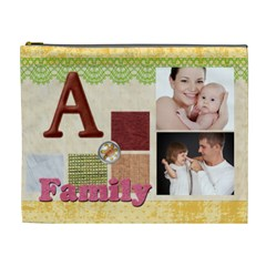 Family By Jo Jo   Cosmetic Bag (xl)   W1nphb3vbdg1   Www Artscow Com Front