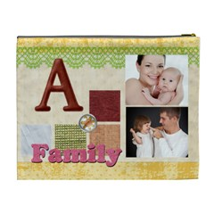 Family By Jo Jo   Cosmetic Bag (xl)   W1nphb3vbdg1   Www Artscow Com Back
