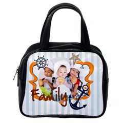 Kids Of Love By Mac Book   Classic Handbag (two Sides)   F8zbfqvhfmva   Www Artscow Com Back