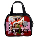love, happy, sweet - Classic Handbag (Two Sides)