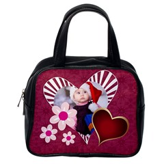 Love, Happy, Sweet By Mac Book   Classic Handbag (two Sides)   E4k61o5q7vkn   Www Artscow Com Back