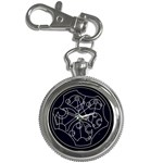 Wibbly Wobbly Timey Wimey Pocket Watch - Key Chain Watch