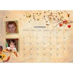 Eli By Boryana Mihaylova   Desktop Calendar 8 5  X 6    Ak0a5p7or09x   Www Artscow Com Nov 2013