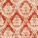 christmas wishes_red damask
