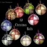 10 Christmas Balls