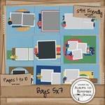 Boy 5x7 Album - 20 pages ready to go!