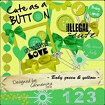 Carmensita Kit - Baby green & yellow