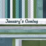 Blues & Greens - January s Coming