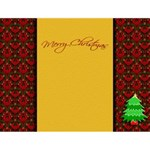 7 x5  Christmas Photo Card