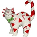 candy cane cat h