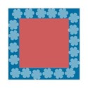 Blue square frame2