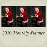 2010 Square Monthly Planner Datebook Kit
