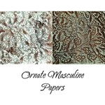 Ornate Masculine Papers