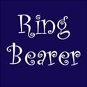 cufflink navy ring bearer