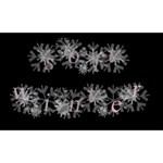 Soft Winter Snowflake Alphabet