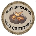 fun around campfire tag