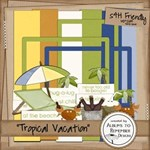 Tropical Vacation -10 Pgs Good for generic too!