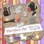 Purrr-fect Pet...Meow (with 3 complete alphabets)