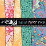 Misfit Paper Pack by Mikki