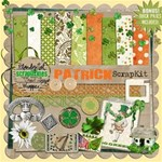 Luck O  the Irish! PATRICK SCRAPKIT