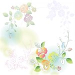 Spring Soft Flower Theme kits