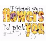 Flower Friends Wordart