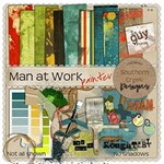 Man at Work: Painter