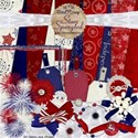 Star Spangled-BitsO Scrap preview