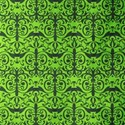 Preppy damask green