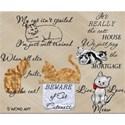 Feline Word Art #2