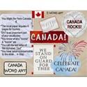 Canada Word Art