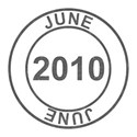 2010 Date Stamps - 06