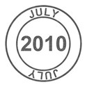 2010 Date Stamps - 07