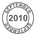 2010 Date Stamps - 09