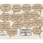 Speech Bubbles #1