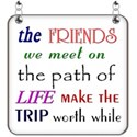 Friends Word Art - 06