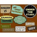 Outdoors Word Art