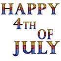 DSnow_Happy4th_WordArt
