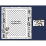 Strike A Pose Frame