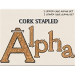 Cork Stapled Alpha