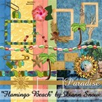 Flamingo Beach   Huge Kit! Free for Limited Time